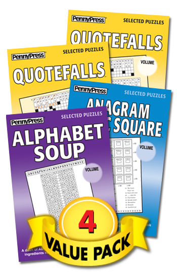 Anagrams With-a-Twist Showcase Value Pack-4