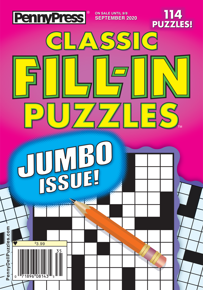 Classic Fill-In Puzzles