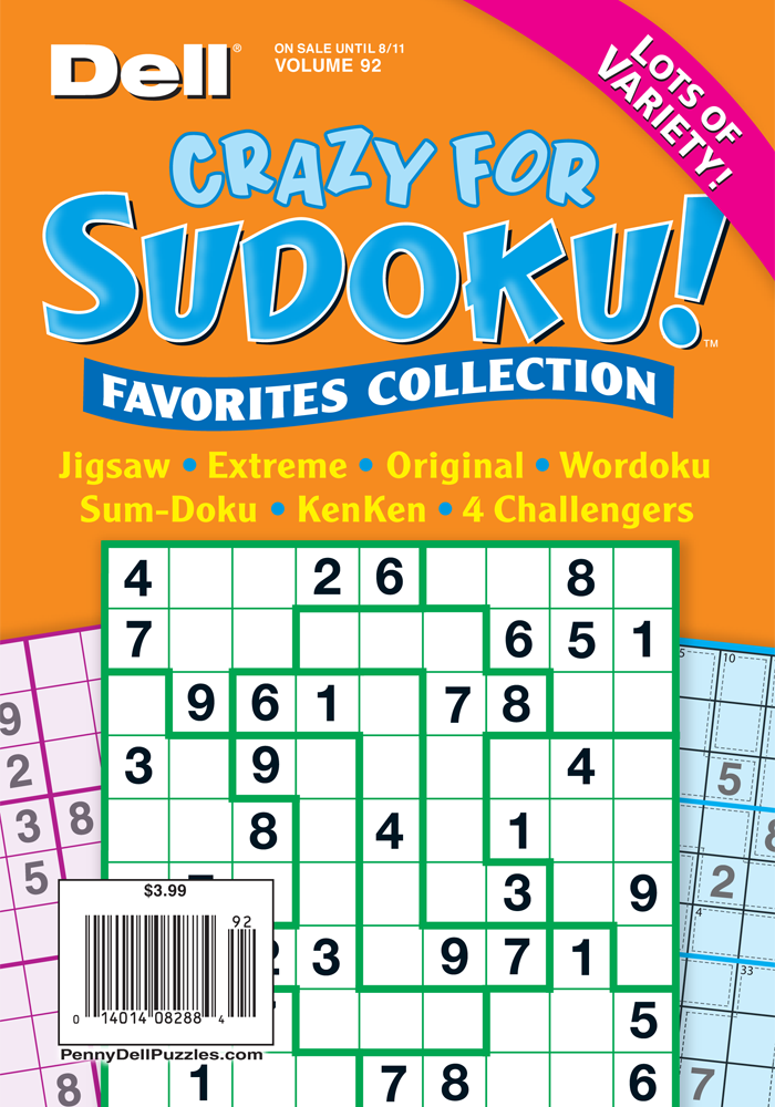 Crazy For Sudoku! Favorites Collection