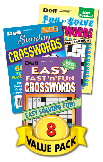 Dell All-Crossword Value Pack-8