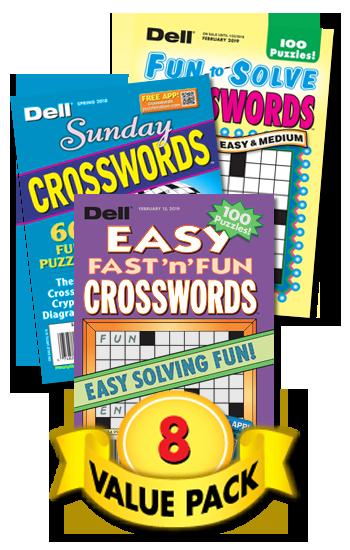Dell All-Crossword Value Pack-8