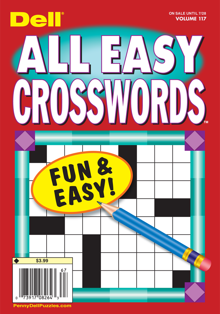 Dell All Easy Crosswords