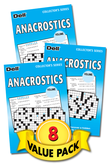 Anacrostics Value Pack-8