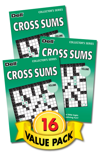 Cross Sums Value Pack-16
