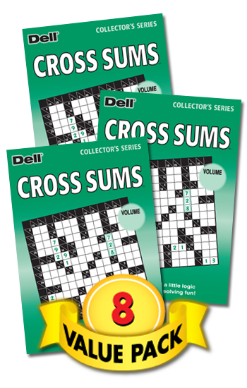 Cross Sums Value Pack-8