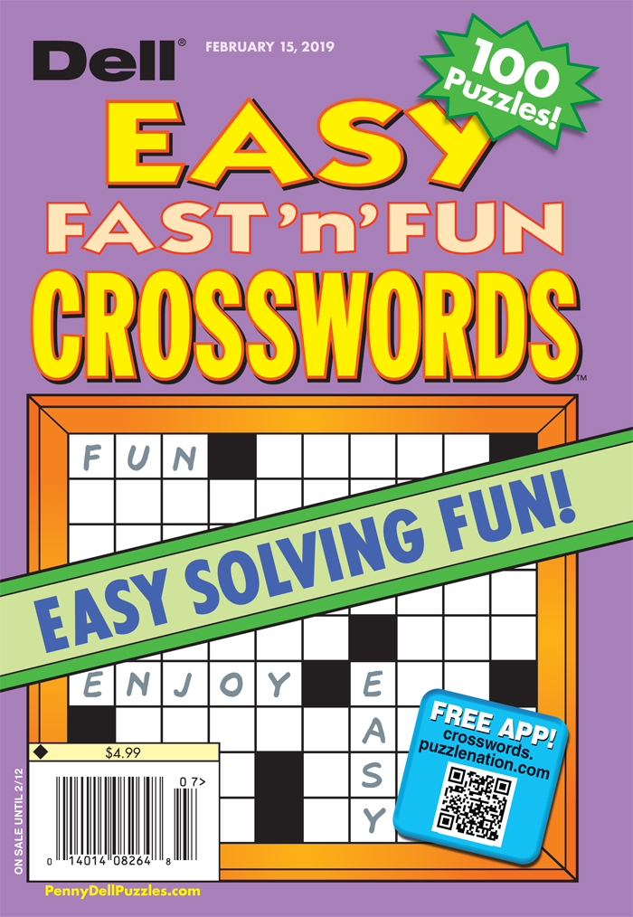 Dell Easy Fast 'n' Fun Crosswords