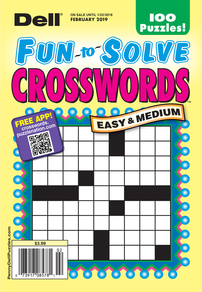 Dell Fun-to-Solve Crosswords