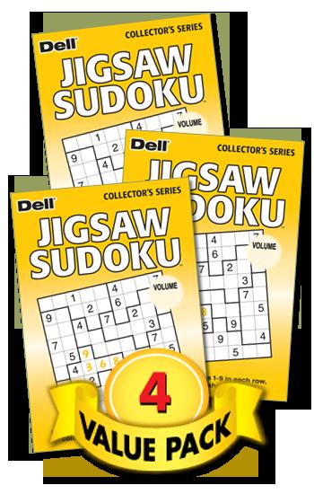 Jigsaw Sudoku Value Pack-4