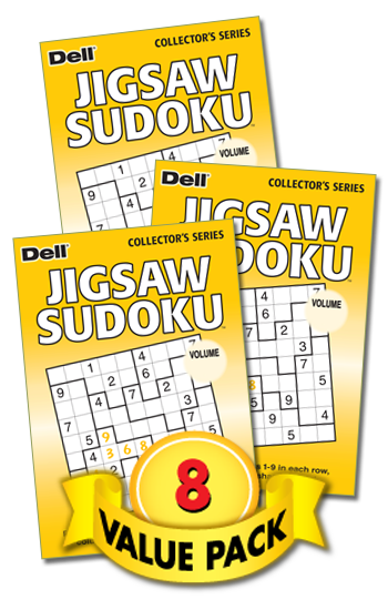 Jigsaw Sudoku Value Pack-8