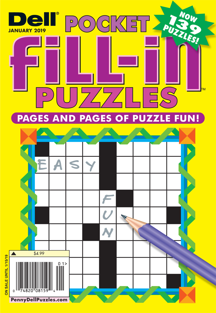 Dell Pocket Fill-In Puzzles