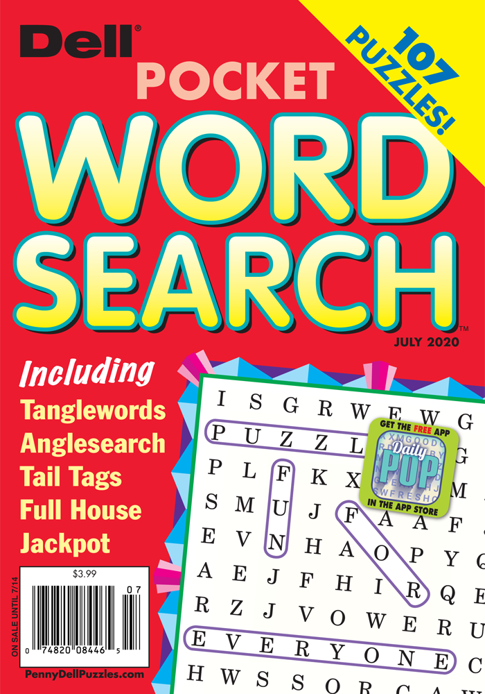Dell Pocket Word Search