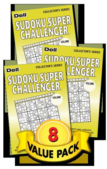 Sudoku Super Challenger Value Pack-8