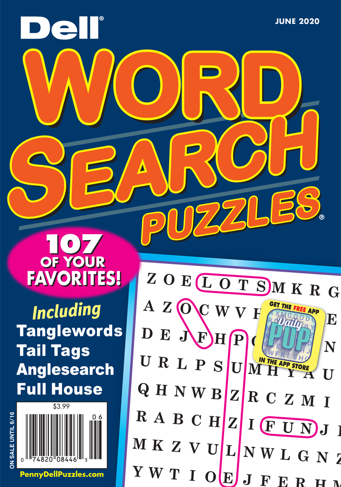 Dell Word Search Puzzles