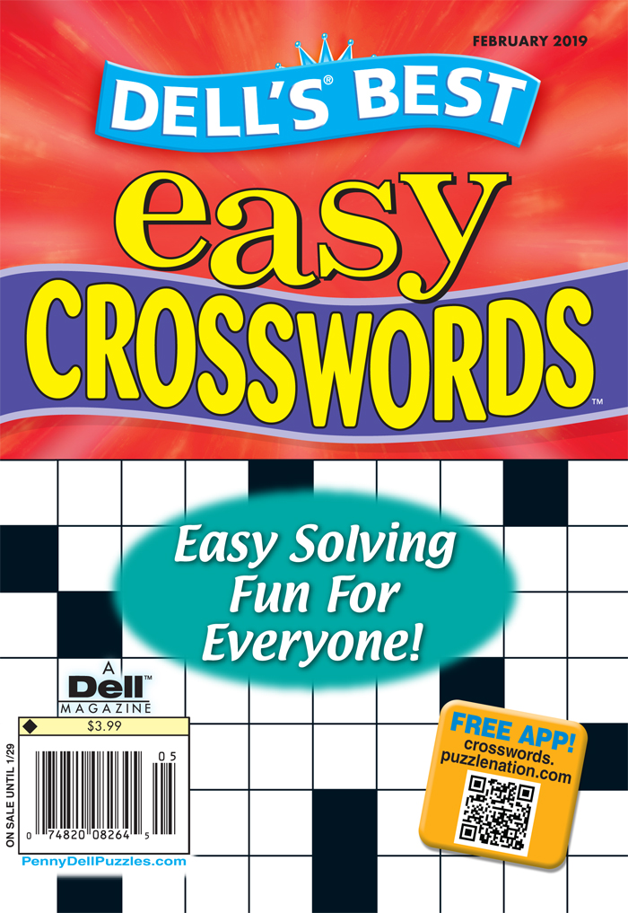 Dell's Best Easy Crosswords