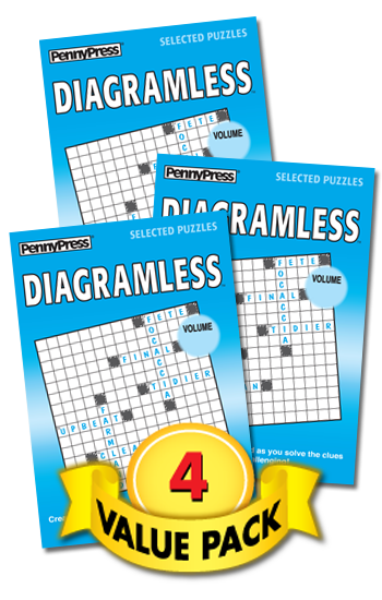 Diagramless Value Pack-4