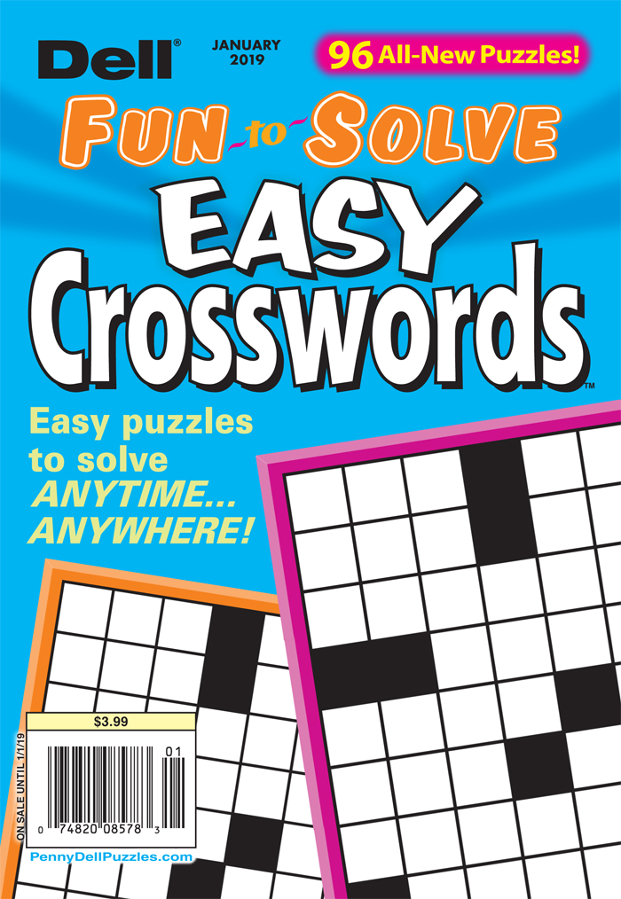 Fun-to-Solve Easy Crosswords