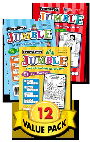 Jumble® Value Pack-12