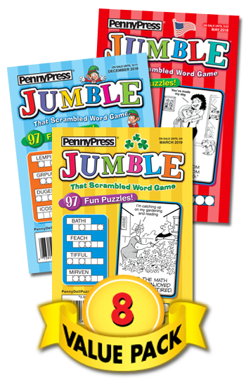 Jumble® Value Pack-8