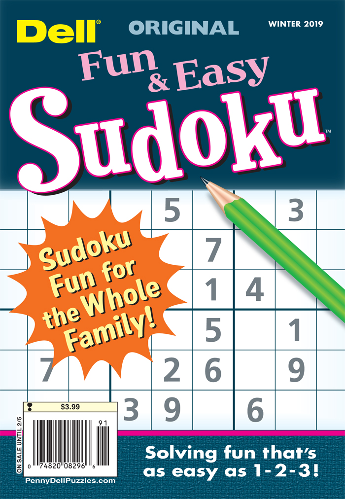 Original Fun And Easy Sudoku
