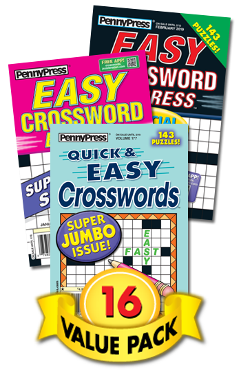 Penny Press All-Crossword Value Pack-16