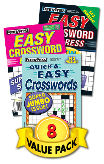 Penny Press All-Crossword Value Pack-8
