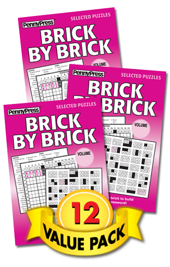 Brick By Brick Value Pack-12