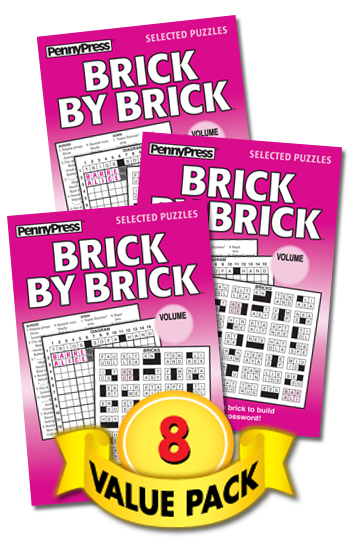 Brick By Brick Value Pack-8
