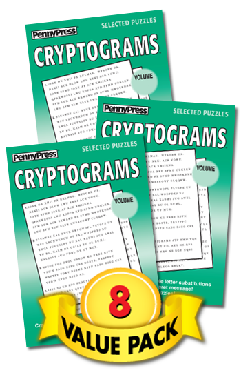 Cryptograms Value Pack-8