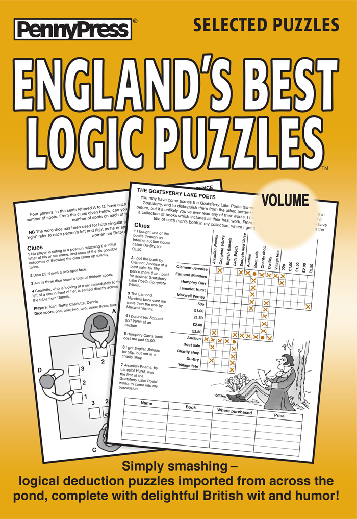 England's Best Logic Puzzles