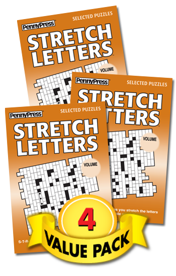 Stretch Letters Value Pack-4