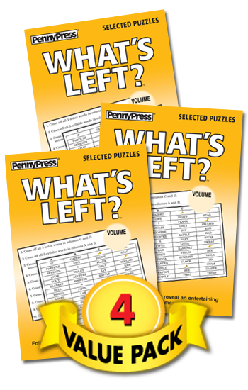 What's Left Value Pack-4