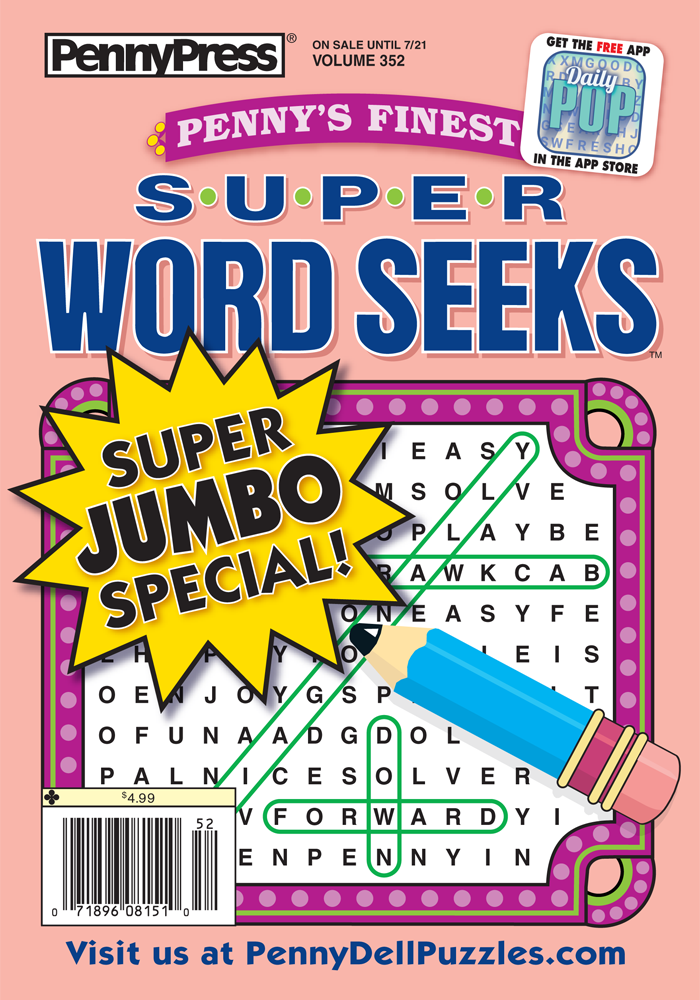 Penny's Finest Super Word Seeks