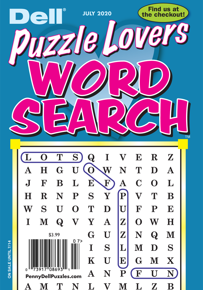 Puzzle Lovers Word Search