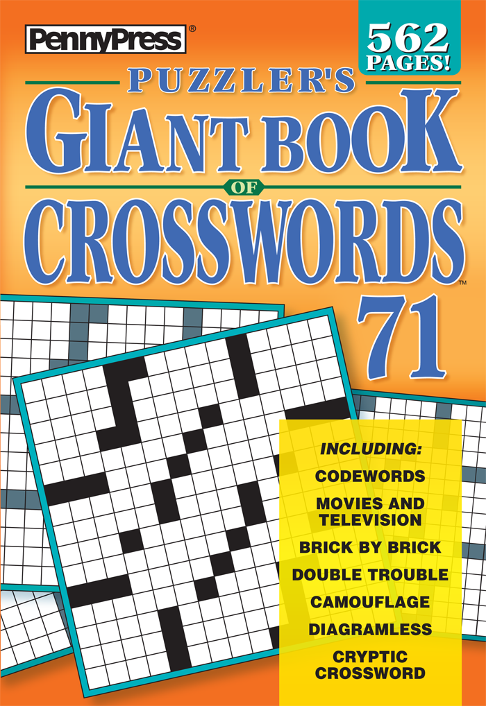 Puzzler's Giant Book Of Crosswords