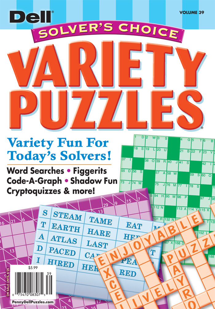 Solver's Choice Variety Puzzles