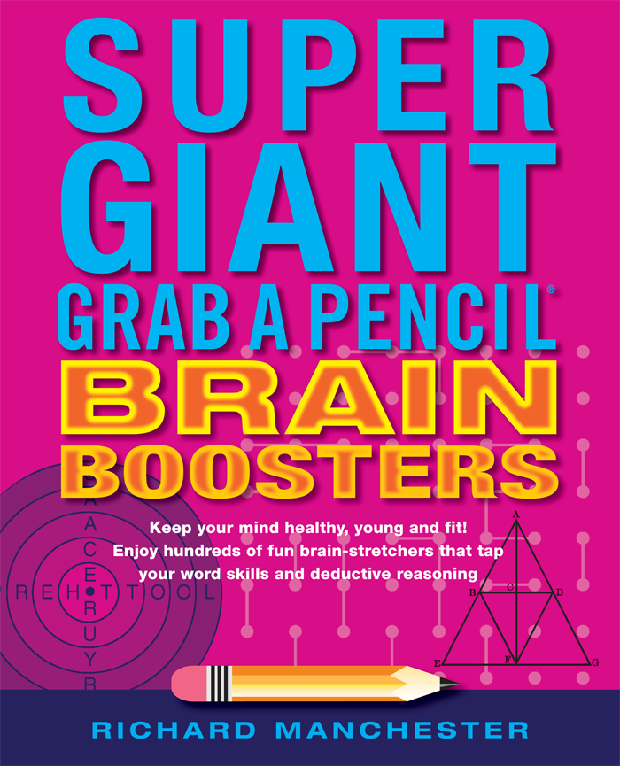 Super Giant Grab A Pencil® Book Of Brain Boosters