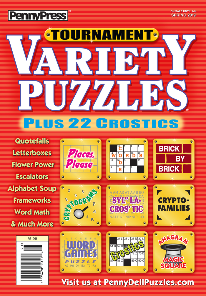 Tournament Variety Puzzles
