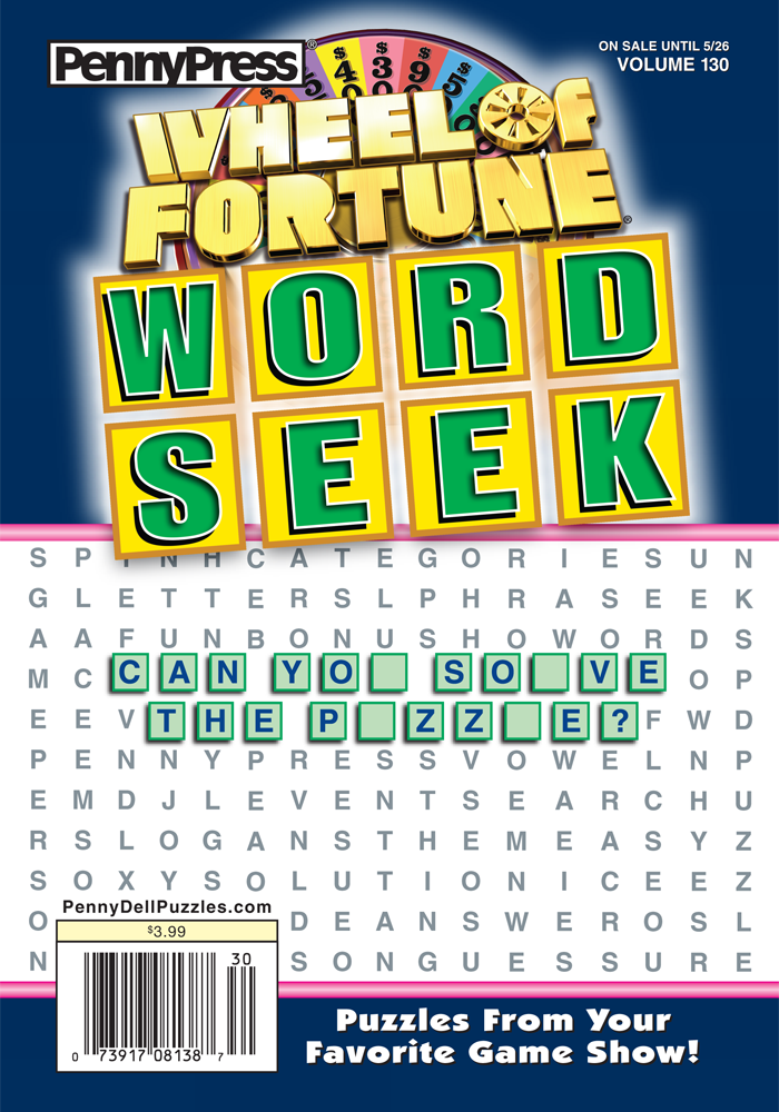Wheel Of Fortune Word Seek