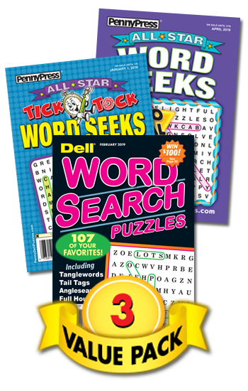 Word Seek/Search Value Pack-3