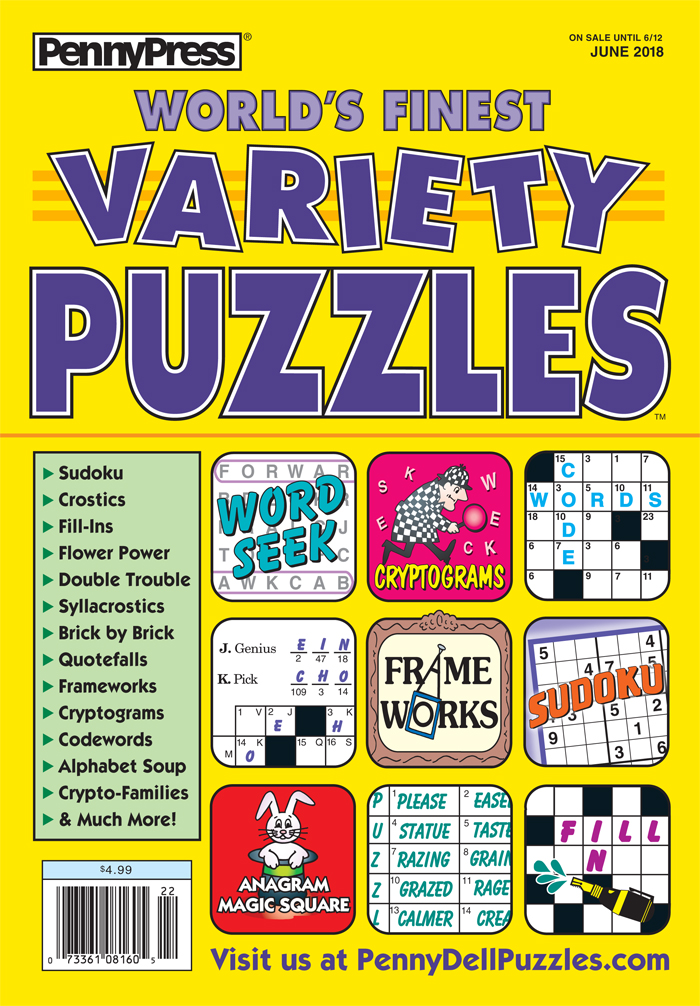 World's Finest Variety Puzzles