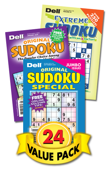 Dell & Penny Sudoku Value Pack-24