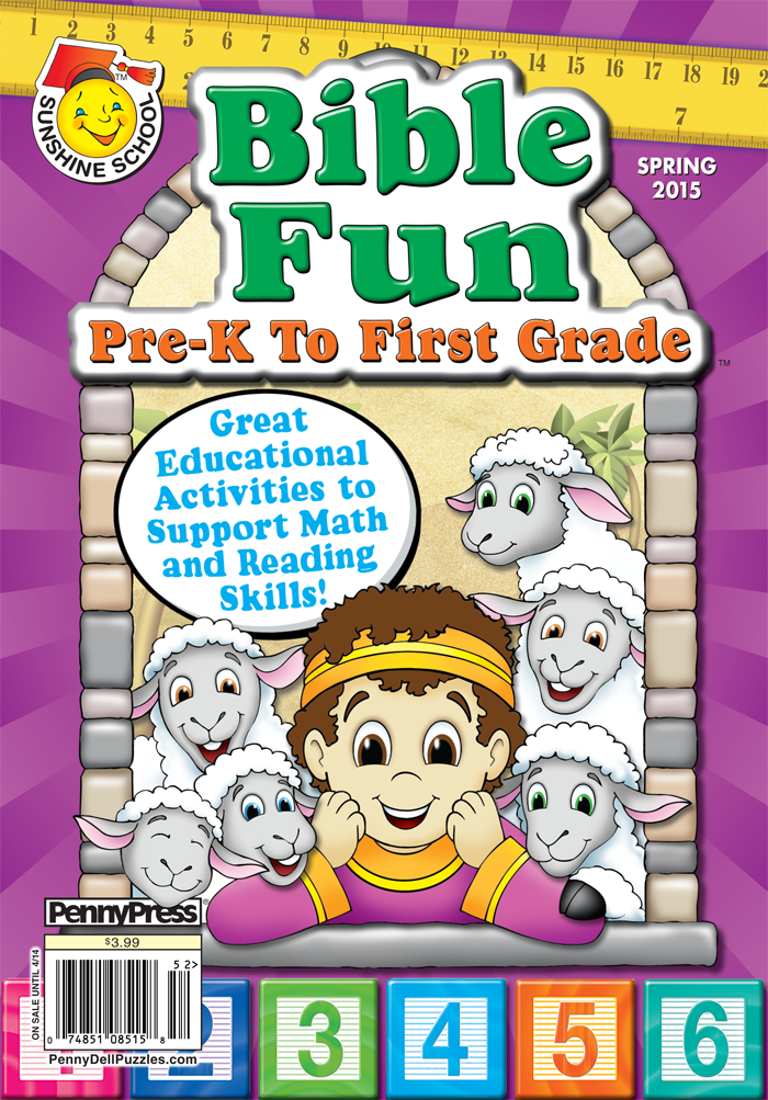 Sunshine School Bible Fun Pre-K To First Grade