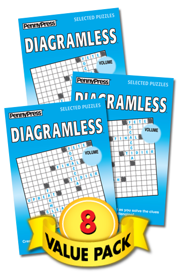 Diagramless Value Pack-8