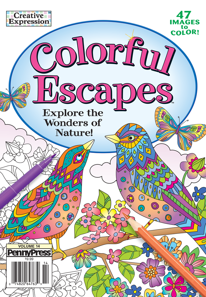 Creative Expression Colorful Escapes