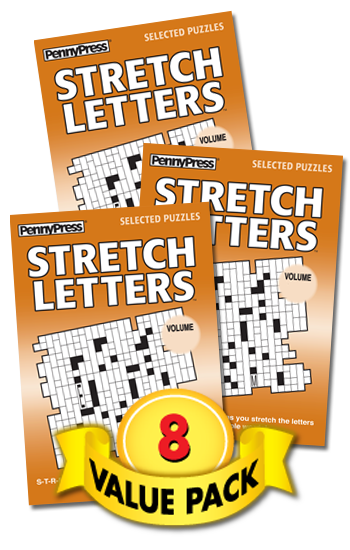 Stretch Letters Value Pack-8