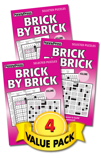 Brick By Brick Value Pack-4
