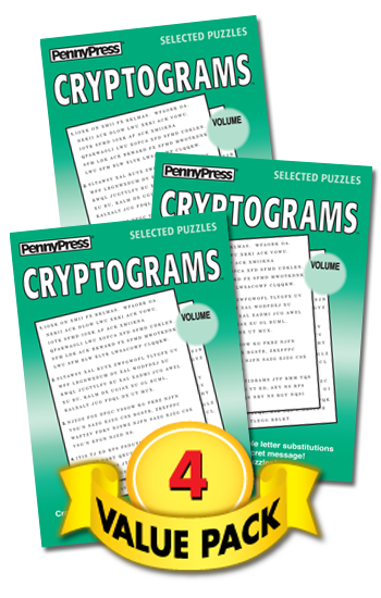 Cryptograms Value Pack-4
