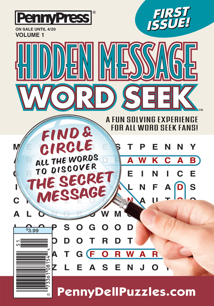 Hidden Message Word Seek