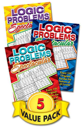 Logic Problems Spectacular Value Pack-5