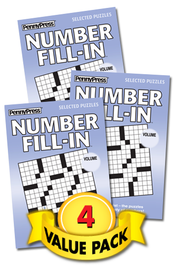 Number Fill-In Value Pack-4